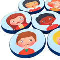 Emotions Cushions  Pack Of 10,Early years floor cushions,Early years emotions resources,classroom floor cushions,sensory floor cushions,nursery cushions